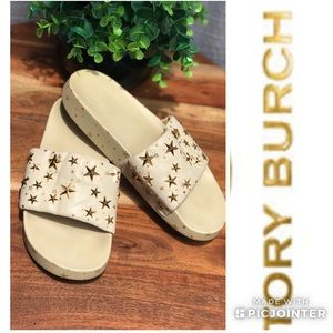 Tory Burch🍂🍁Star Studded Sandals size 8